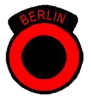 Logo and shoulder patch of British Berlin Brigade